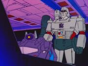 Roll for It Megatron and Shockwave on Cybertron