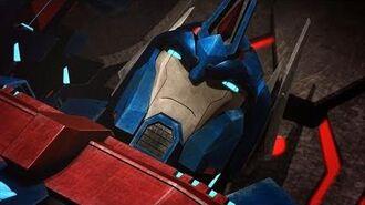 Ultra Magnus Loses His Hand Transformers Prime