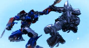 Optimus Prime vs Megatron (Cyber Missions 12)