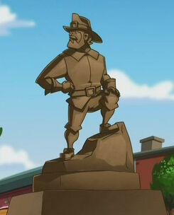 Statue of Horace Burns