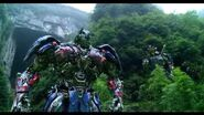 Transformers Age of Extinction - Optimus Prime Speech The Battle Begins Dinobots Charge