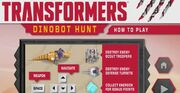 Transformers Dinobot Hunt How to Play