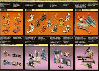 1984 Transformers Toys Catalog