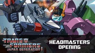 Transformers Headmasters Opening