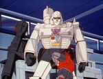 TransporttoOblivion Cliffjumper attacks Megatron