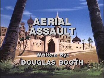 Aerial Assault title shot