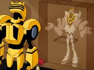 Bumblebee and Sari with Meltdown