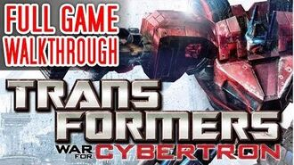 PS3 Longplay 023 Transformers War for Cybertron - Full Game Walkthrough No commentary