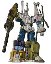 Transformers Bruticus by VulnePro