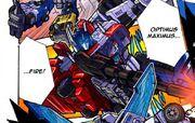Unite Warriors Ruination 2 Optimus Maximus Fires