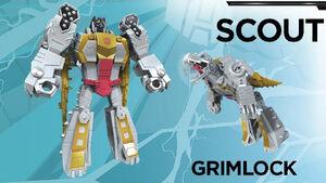 Grimlock Scout Cyberverse