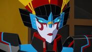 It's not everyday Windblade gets lectured by Strongarm 2
