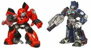 Movie RobotHeroes BestBuy Cliffjumper OptimusPrime