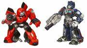 Movie RobotHeroes BestBuy Cliffjumper OptimusPrime