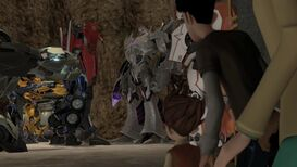 One shall rise part 2 Megatron in base screenshot