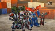 Optimus and his his All-Stars (Freedom Fighters)