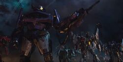Shockwave and Decepticon Bumblebee