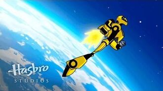 Transformers Animated - A Falling Bumblebee