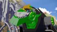 Grimlock note that Strongarm does not understand art.
