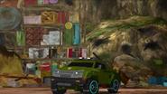 Bulkhead's vehicle mode (Combiner Force Ep. 23)
