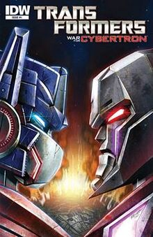 230px-WarforCybertron comic cover