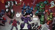 Empire of Stone Issue 2 Decepticons Attack