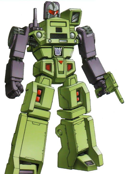 Transformers G1 Parts 1985 MIXMASTER dual missile devastator