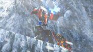 Optimus vs A Mountain