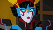 It's not everyday Windblade gets lectured by Strongarm 1
