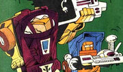 Miscolored minibots