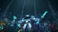 Steeljaw and Decepticon Island's Decepticons