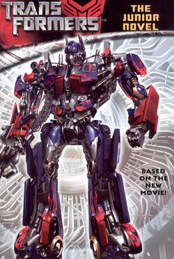 Transformers the junior novel