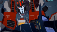 Starscream with Shadelock