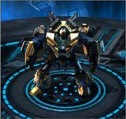 Transformers Universe Alternate Front-Line Robot Mode