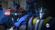 Ultra Magnus and Smokescreen