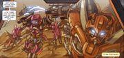 Reign of Starscream 2 Arcee and Cliffjumper