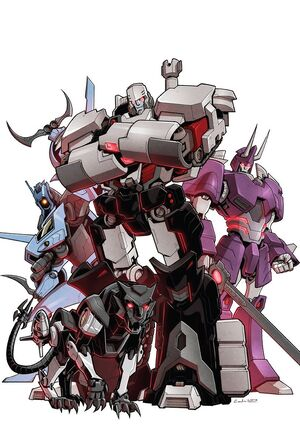 Transformers More than Meets the Eye 52 RI Cover Blank