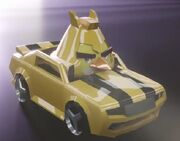 Angry Birds Transformers Bumblebee Vehicle Mode