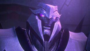 Flying Mind screenshot Megatron face eyes