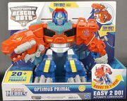 Rescue Bots Optimus Primal Roar to the Rescue Toy