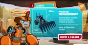 Robots in Disguise Brasil Fixit Tells about Thunderhoof