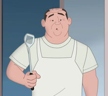 Mr. Feiffer and his spatula