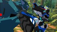 Strongarm fights back