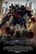 Transformers dark of the moon official poster