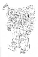 Combiner Wars Devastator Concept Art