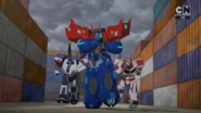 Optimus, Ratchet, and Jazz are coming.