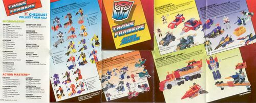 Transformers 1990 USA Catalog Actionmasters