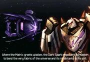 Rise of the Dark Spark 3DS Megatron and the Dark Spark