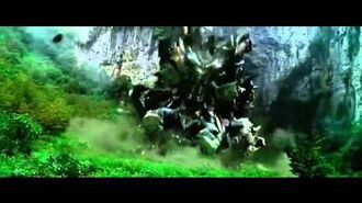 Transformers 4 Grimlock DinoBot Transform