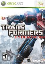 Transformers-War-for-Cybertron Xbox-360 Front